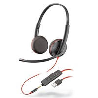 Headset Poly Blackwire C3225 Stereo