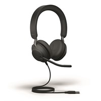 HEADSET JABRA EVOLVE2 40 (USB-A, MS STEREO)