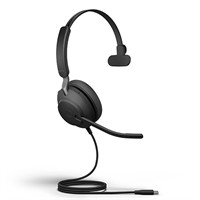 HEADSET JABRA EVOLVE2 40 (USB-A, MS MONO)