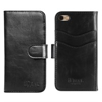 Väska iDeal Magnet Wallet+ Apple iPhone 7/8/SE  Svart